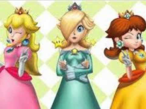 Rosalina daisy Princess peach