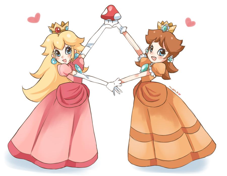 Princess Peach And Princess Daisy Images Peach And Daisy Hd