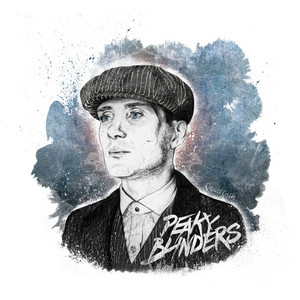 Peaky Blinders illustration door Daniel Cash
