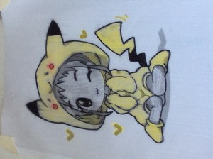Pichachu girl i made it myself