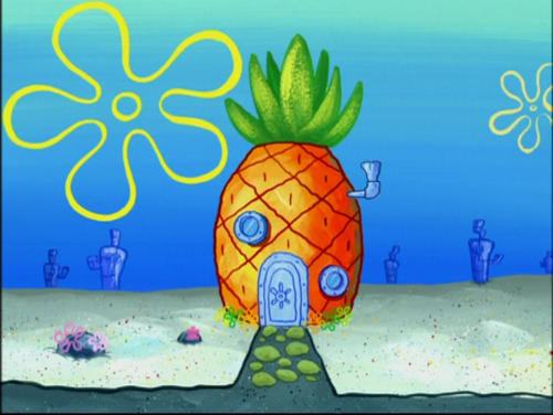 Spongebob Squarepants achtergrond called Pineapple House