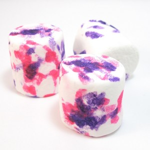 Pink and Purple Marshmallows