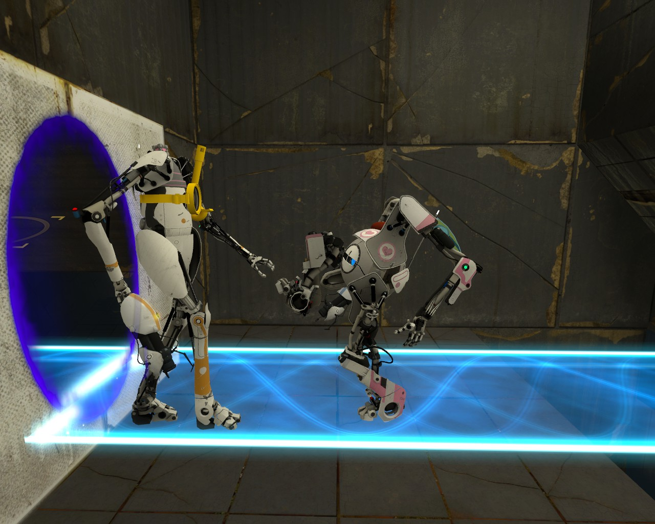 P Body Atlas Images Portal 2 Co Op HD Wallpaper And Background Photos