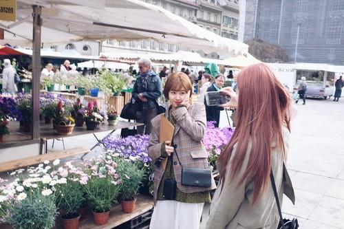 Twice (JYP Ent) वॉलपेपर entitled पूर्व दर्शन चित्रो of Twice TV5 in Switzerland