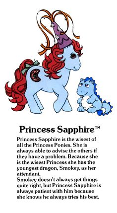 Princess Sapphire Fact File