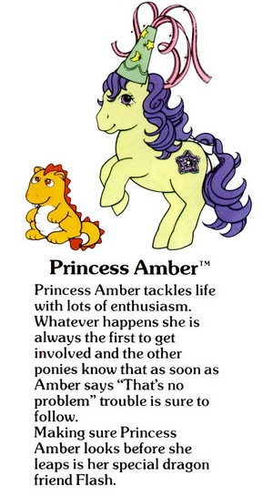Princess Amber Fact File