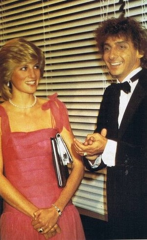 Princess Diana And Barry Manilow