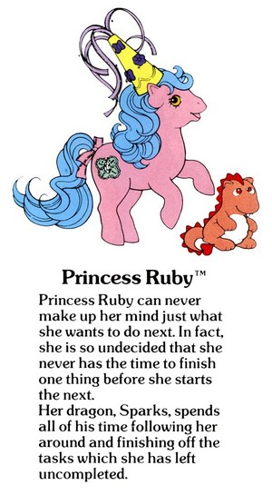 Princess Ruby Fact File