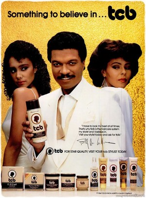 Promo Ad For TCB Hair Products