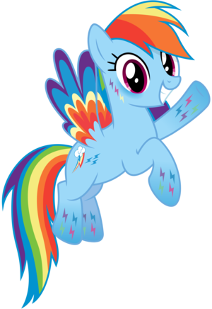 Rainbowfied Rainbow Dash