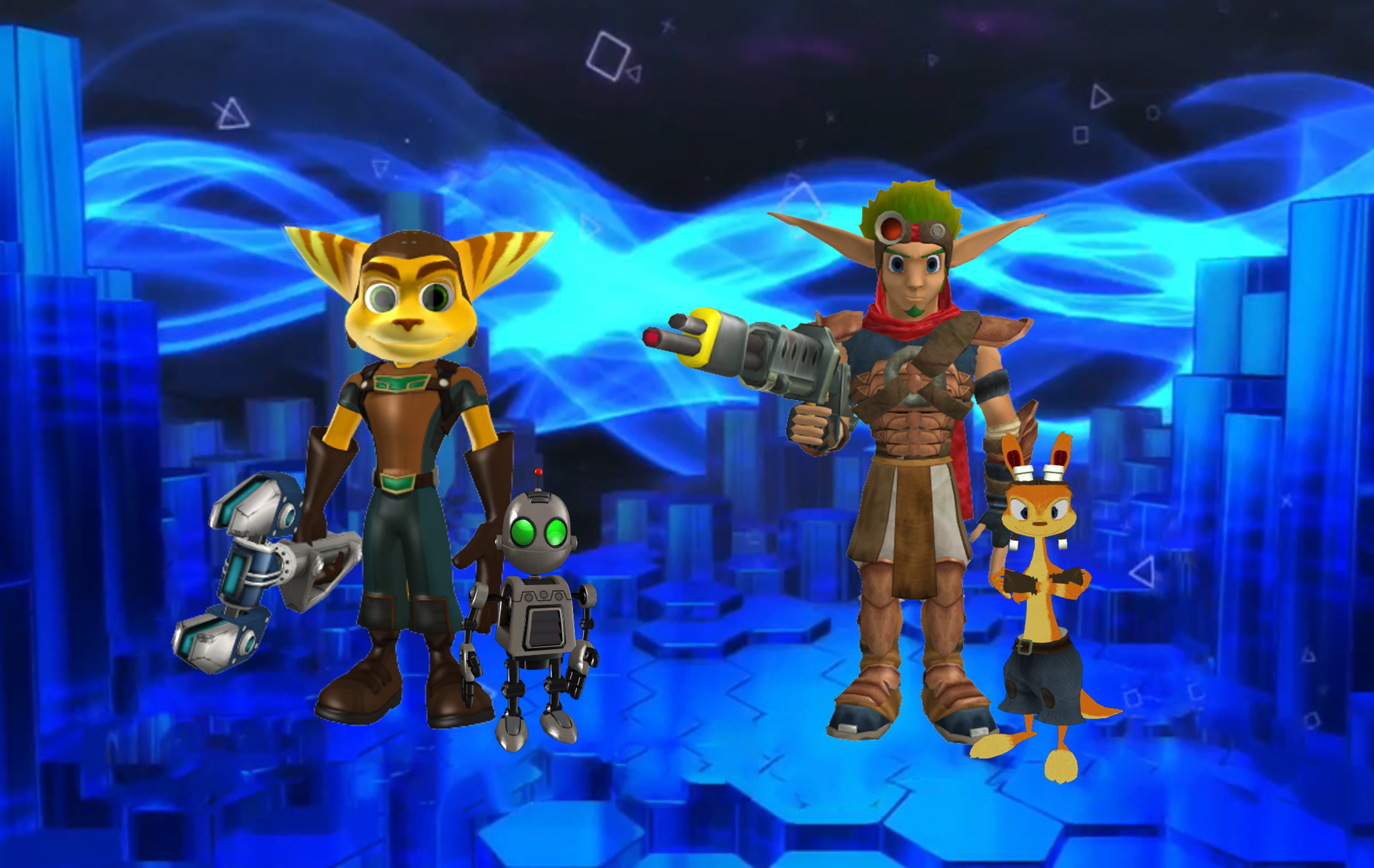 Jak And Daxter Wallpaper 12835803: Jak And Ratchet Imágenes Ratchet And Clank And Jak And