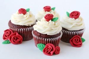Red Velvet カップケーキ