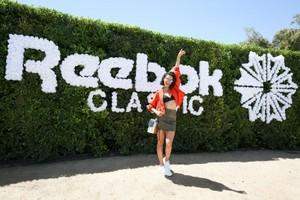 Reebok Classic Crib: Hosted door Nina Dobrev at La Quinta