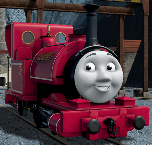 Thomas the Tank Engine wallpaper titled CGI Skarloey