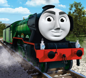 CGI Flying Scotsman