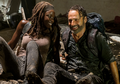 Rick and Michonne - the-walking-dead photo