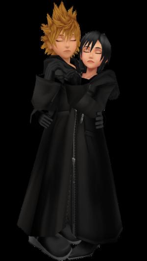 Roxas Xion = RokuShi MMD