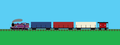 Ryan's Containers - thomas-the-tank-engine fan art