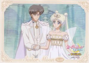 Sailor Moon Crystal - Neo 퀸 Serenity and King Endymion