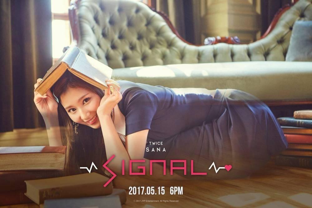 Twice Jyp Ent Imagens Sanas Teaser Image For Signal Hd