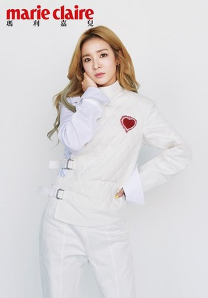 Sandara Park for Marie Claire Hong Kong April issue
