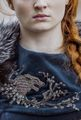 Sansa's dress - game-of-thrones fan art