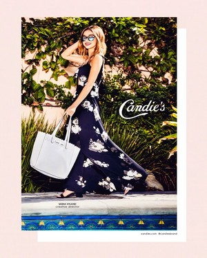 Sarah Hyland - Candies Photoshoot - Spring 2017