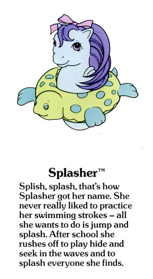 Splasher Fact File