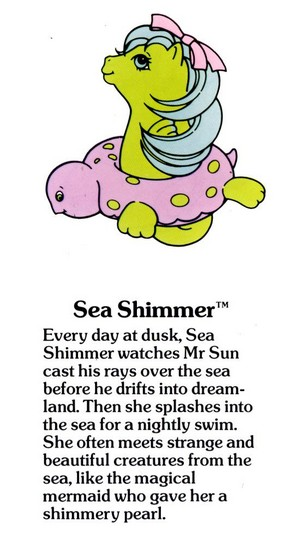 Sea Shimmer Fact File