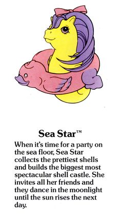 Sea étoile, star Fact File
