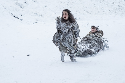 Game of Thrones wallpaper called Season 7 Exclusive Look ~ Bran and Meera