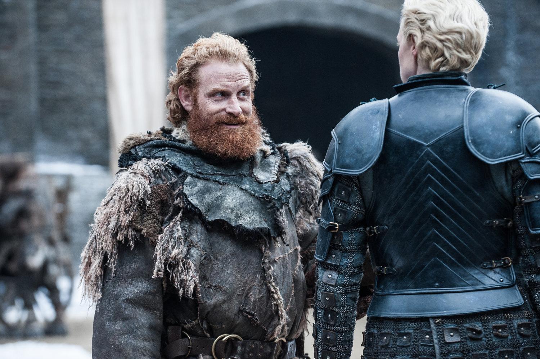 Season 7 Exclusive Look ~ Brienne and Tormund