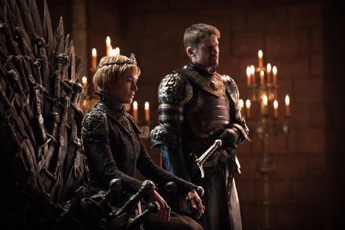 Game of Thrones wallpaper titled Season 7 Exclusive Look ~ Cersei and Jaime
