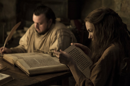 Game of Thrones karatasi la kupamba ukuta titled Season 7 Exclusive Look ~ Sam and Gilly