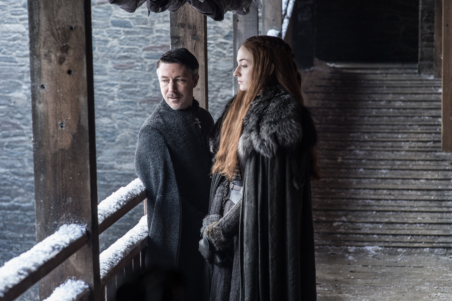 Season 7 Exclusive Look ~ Sansa and Baelish
