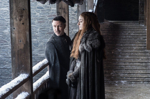 Game of Thrones wallpaper entitled Season 7 Exclusive Look ~ Sansa and Baelish