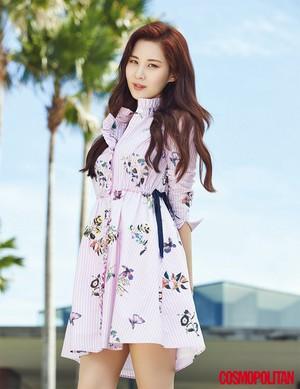 Seohyun @ Cosmopolitan Magazine April 2017