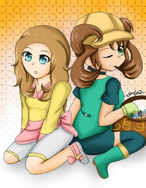 Serena and Shauna