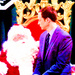 Sheldon and Santa - sheldon-cooper icon