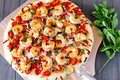 Shrimp Fra Diavolo Pizza - pizza photo