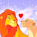 Simba And Nala - the-lion-king icon