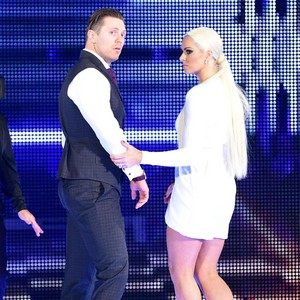 """Smackdown March 28, 2017 - Miz and Maryse present """"lost"""" footage of Total Bellas on """"Miz TV"""""""