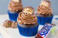 Snickers Cupcakes - cupcakes photo