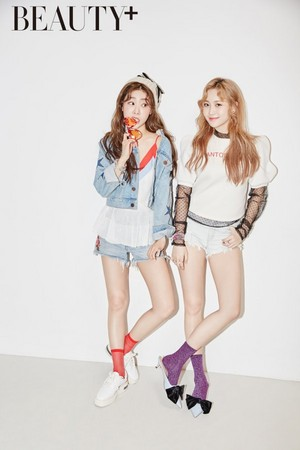 Sojin and Yura for Beauty+ Magazine May Issue
