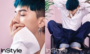 Song Minho for 'InStyle'