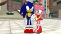 Sonic and Amy Station Square Main Area MMD. Part 1 - sonic-and-amy photo