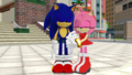 Sonic and Amy Station Square Main Area MMD. Part 2 - sonic-and-amy photo