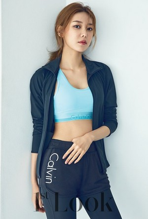 Sooyoung - 1st Look x Calvin Klein Sportswear