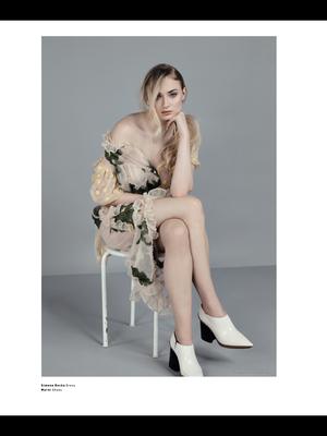 Sophie Turner ~ Malibu Magazine ~ April 2017