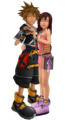 Sora Kairi = SoKai (MMD)